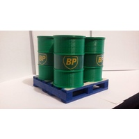 1:14 Scale 205 Ltr Drum BP With Pallet