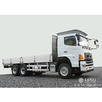 1/14 HINO 6 x 4 flat top simulation tractor metal