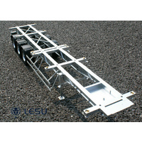 1/14 Full metal 40-foot container trailer